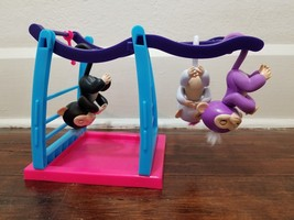 WowWee Fingerlings Monkey Bar & Playground Playset w 3 Monkeys - $17.60