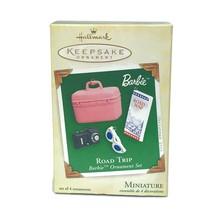 2005 Road Trip Hallmark Ornament Miniature Barbie Set Barbie Doll Vacati... - $13.96