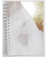 Moglea's 65 Week Jotter Planner Hand-Painted White-Wash and Gold Foil - $19.99