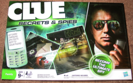 CLUE SECRETS & SPIES GAME HASBRO 2009 COMPLETE EXCELLENT CONDITION - $15.00