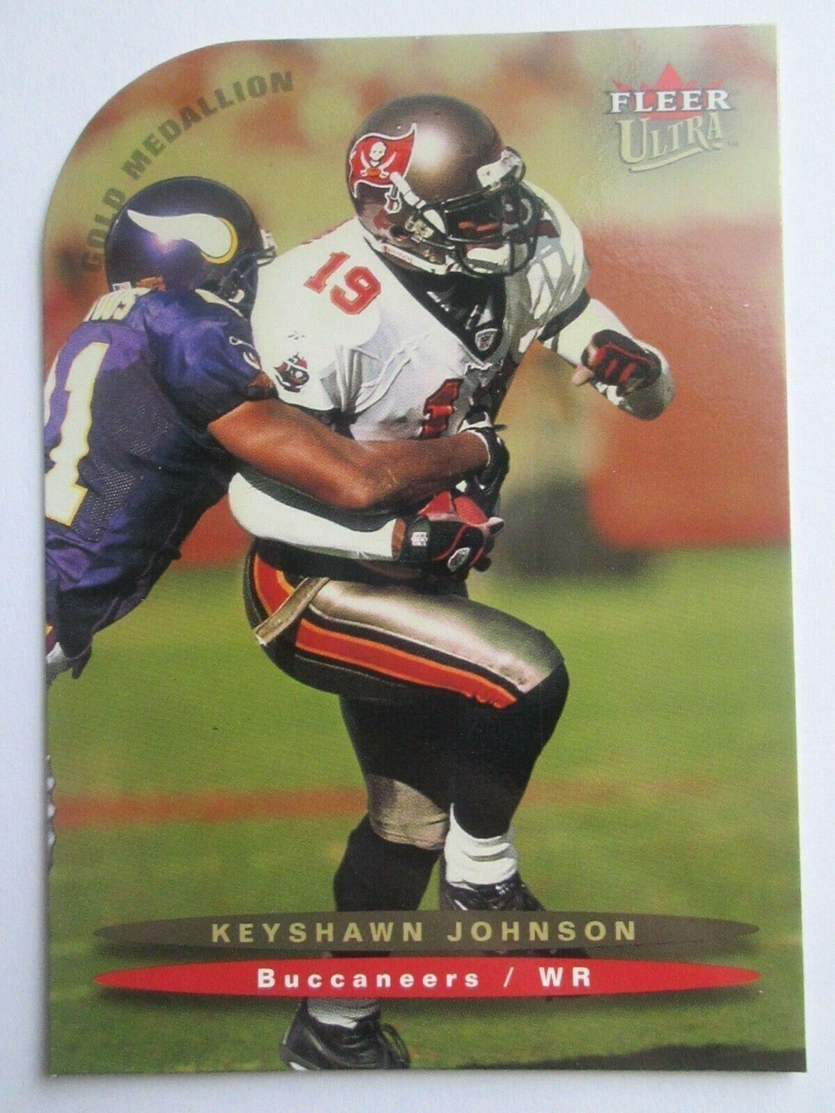 Keyshawn Johnson 2003 Fleer Ultra Gold Medallion Card #110 Buccaneers Free S&H