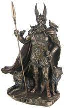 Unicorn Studio 9.75 Inch Norse God - Odin Cold Cast Bronze Sculpture Fig... - $96.60