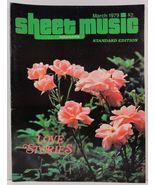 Sheet Music Magazine March 1979 Standard Edition - $3.99