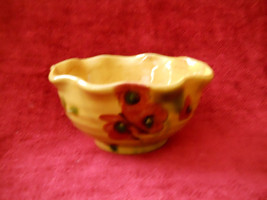 """Ambiance Fleur Rouge 6"""" fluted bowl - $11.83"""