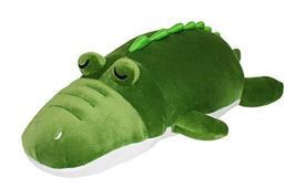 eZen Creation Fluffy Sleeping Alligator Crocodile Stuffed Animal Cushion Plush T