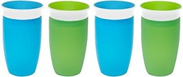 Munchkin Miracle 360 Sippy Cup - Green/Blue - 10 oz - 2 ct - 2 pk - $36.29