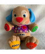 Fisher Price Laugh & Learn Love To Play Puppy Dog Interactive Plush Toy ... - $13.99