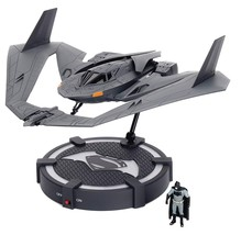 Batman V Superman Batwing & Batman Figure & LIGHT-UP Stand 1:32 Scale Nib - $71.27