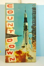 Countdown Astronaut Nasa Apollo Moon Mission Game 1967 - $84.15