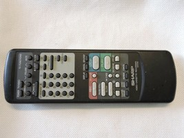 Sharp G0573GE Vcr Remote VC6610 VC6610U VCA610 VCA610U *No Battery Cover* B16 - $9.95