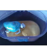 Little Live Pets Snowflake Princess Turtle and Tank WORKS  Swimming E42 - $14.84