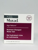 Murad Age Reform Nutrient Charged Water Gel Oil Free 0.25 oz. 7.5ml Travel Size - $7.99