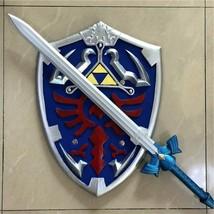 1:1 Game Cosplay Skyward Sword Shield 2 Pcs/Set Link Weapon Sword Safety PU - $24.60+