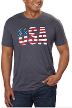 Galt USA Signature Américain Collection Homme T-Shirt Nwt image 1