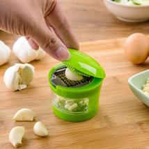 Multifunction Plastic Garlic Crusher Slicer Grater Kitchen Vegetable Tool - $9.15
