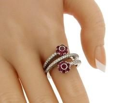 ¦PASQUALE BRUNI Diamond & Tourmaline Flowers Ring Size 7.25  » U117 - £1,125.50 GBP