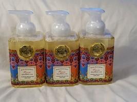 Michel Design Works Rose Geranium Foaming Shea Butter Hand Soap 17.8 oz ea 3 Pk - $34.99