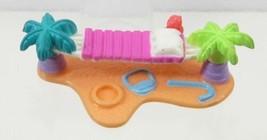 1996 Polly Pocket Vintage Surf 'n Swim - Hammock  Insert Bluebird Toys - $6.00