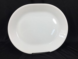 "(1) Corelle Callaway 12"" x 10"" Serving Platter White Made in USA - $14.99"