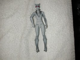 DC DIRECT UNIVERSE ARKHAM CITY LEGACY CAT WOMAN BATMAN VERY NICE - $9.44