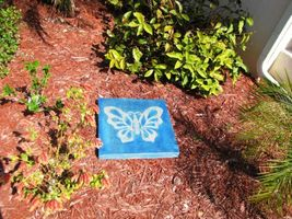 "Butterfly Stepping Stone Concrete Mold 18x18x2"" Make for $3 Each Ships Fast Free image 6"