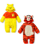 Baby Kids Tiger Winnie Pooh Animal Grow Onesie Bodysuit Romper Jumpsuit Outfit - $26.00