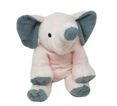 """14 """" Ty Pluffies 2004 Winks Rose & Gris Éléphant Doux Animal en Peluche Jouet - $69.83"""