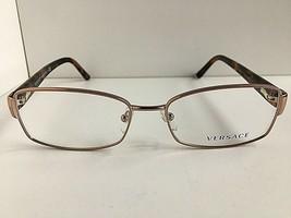 New Versace Mod.7711-B-M 5210 Gold 54mm Women's Eyeglasses Frame Italy #9 - $129.99