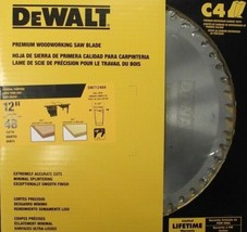 DEWALT DW71248A 12 X 48 Tooth X 10 Degree ATB Saw Blade USA - $61.38