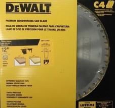 Dewalt DW71248A 12 X 48 Tooth X 10 Degree Atb Saw Blade Usa - $61.38