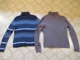 Sonoma Life Style Large Turtleneck Sweaters Lot of 2 - $17.99
