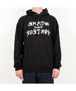 SWEATER HERREN THRASHER SKATE & DESTROY HOOD 113106BK  Null - $69.93