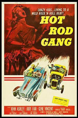 Primary image for Hot Rod Gang - 1958 - Movie Poster