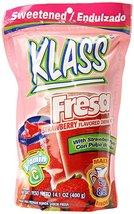 KLASS Strawberry (Fresa) Instant Drink Mix, 14.... - $9.74
