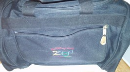 Walt Disney World Parks 2000 Duffel Bag Black Carry On Luggage Travel Accessory - $26.17