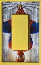 Spiderman Spider man drop down Light Switch Outlet Toggle Rocker Wall Cover Plat image 3