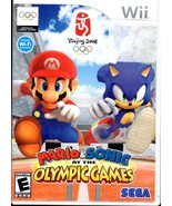 MARIO & SONIC at the OLYMPIC GAMES Nintendo Wii Video Game BEIJING 2008 - $9.75