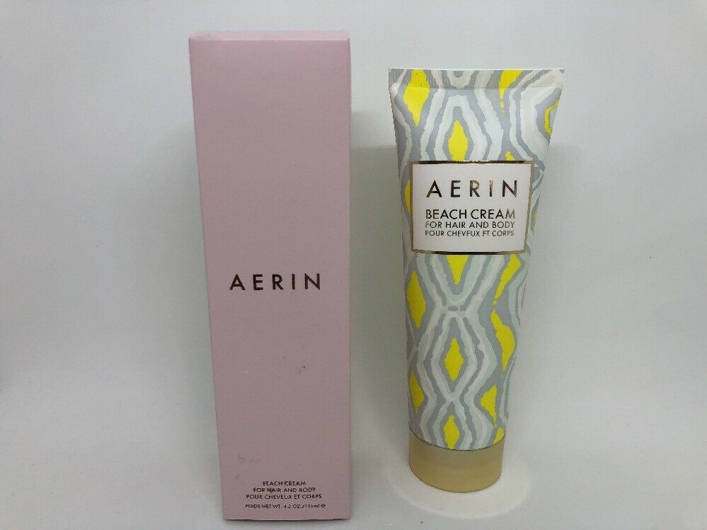 AERIN BY ESTEE LAUDER BEACH CREAM FOR HAIR AND BODY 4.2 OZ NIB