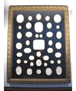 Jeweler's Plaster Castings for Cameos & Intaglios, ca.1800, Framed Set (40) - $3,000.00