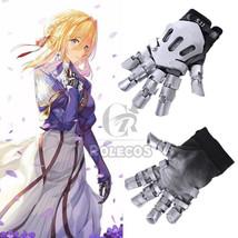Violet Evergarden Cosplay Gloves Hand Gauntlet Knuckles Cosplay Prop Acc... - $33.99