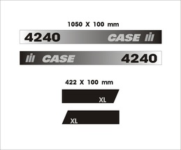 CASE 4240 - Tractor decal set, reproduction - $36.00