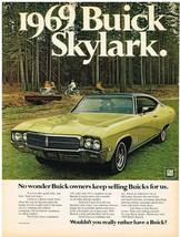 Vintage 1969 Magazine Ad Buick No Wonder Buick Owners Keep Selling Buicks For Us - $5.93