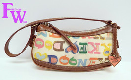 DOONEY & BOURKE Multi Color Monogram Bag - $39.00
