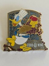 Donald Chip And Dale 2018 WDW Epcot Food And Wine Festival LE Disney Pin - $22.76