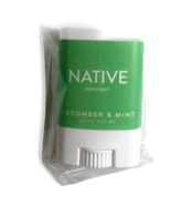 X2 Native Deodorant - Cucumber & Mint - .35 OZ - Travel Size - Paraben Free - $15.84