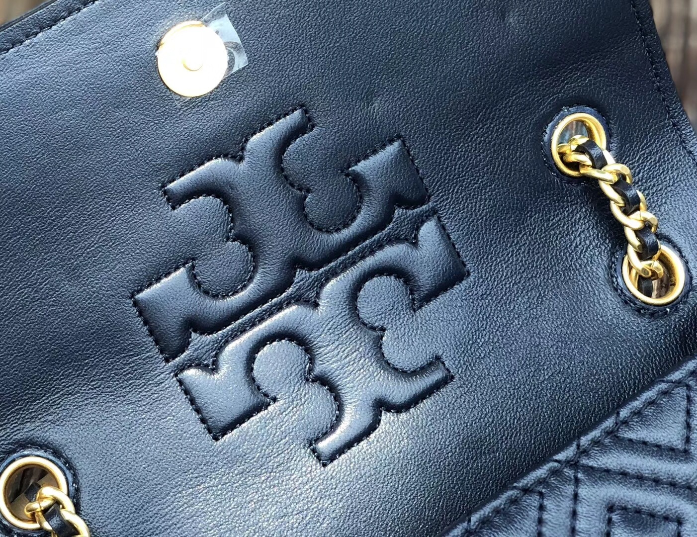 NWT Tory Burch Fleming Stud Small Convertible Shoulder Bag