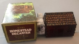 Vintage Avon Homestead Decanter Wild Country After Shave Full 4 oz - $13.09