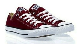 Converse All Star Unisex Sneakers Canvas Intense Burgundy Size:US 13 M/15 W - $49.99