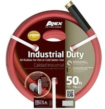 New Apex 8695-50 Commercial All Rubber Hot Water Hose, Red, 5/8-Inch By ... - $39.46
