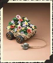 "Boyds Pull Toy ""Vintage Garden Tug Along"" Resin  -#654108 - Retired - $29.99"